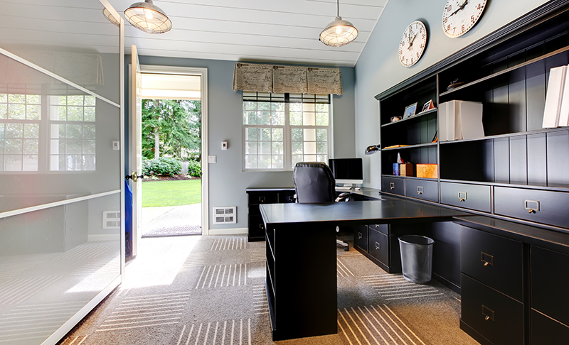 Increase Home Office Productivity: Remodeling Design Tips